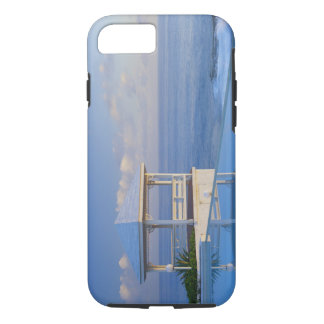 Bahamas, Long Island, Gazebo reflecting on pool iPhone 8/7 Case