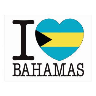 Bahamas Love v2 Postcard