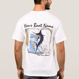 Bahamas Marlin Custom Shirt