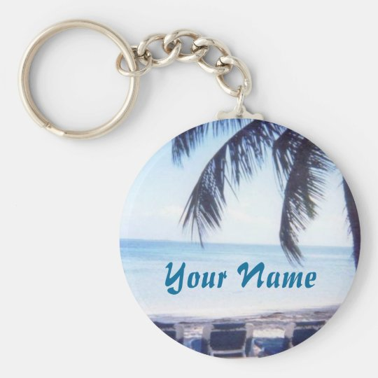 Bahamas Personalised Key Chain