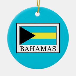 Bahamas Round Ceramic Decoration