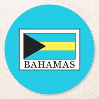 Bahamas Round Paper Coaster