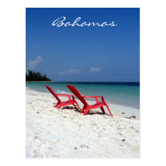 bahamas seats postcard