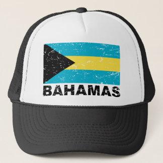 Bahamas Vintage Flag Trucker Hat