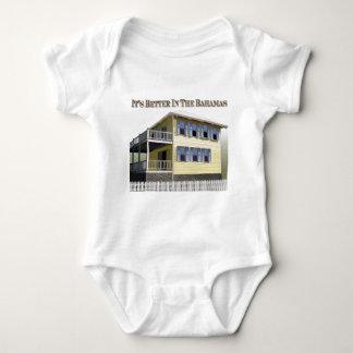 Bahamian Architecture Baby Bodysuit