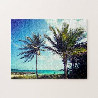 Bahamian Beach Jigsaw Puzzle
