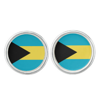 Bahamian flag Cufflinks