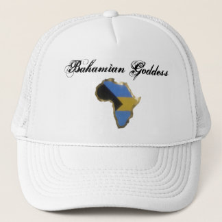 Bahamian Goddess Trucker Hat