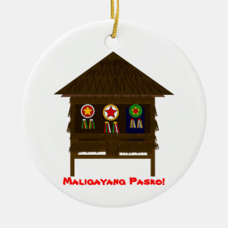 Bahay Kubo ornamnent Christmas Ornament