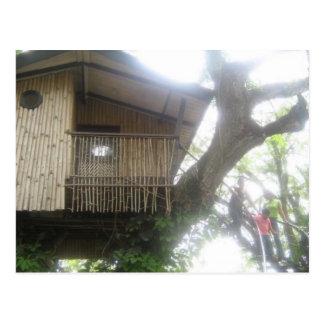 bahay kubo postcard