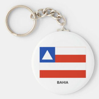 Bahia, Brazil Flag Key Ring
