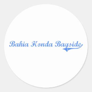Bahia Honda Bayside Florida Classic Design Sticker