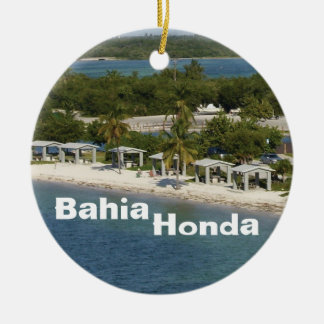 Bahia Honda Florida Christmas Ornament