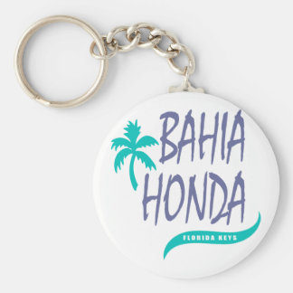 Bahia Honda Florida Keys palm tree Key Ring