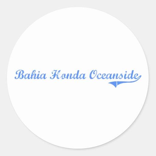 Bahia Honda Oceanside Florida Classic Design Stickers