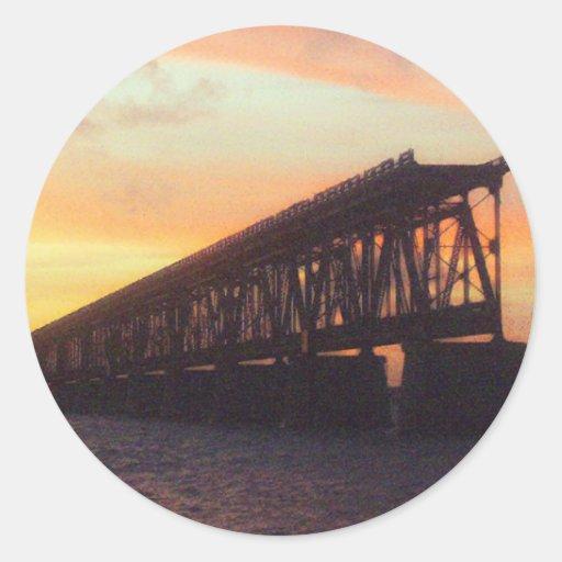 Bahia Honda Rail Bridge Sticker