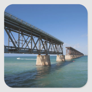 Bahia Honda State Park, Florida Keys, Key Square Sticker