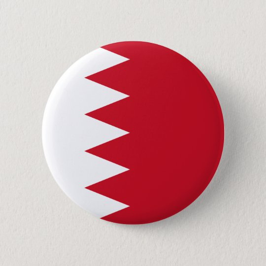 Bahrain - Bahraini Flag 6 Cm Round Badge