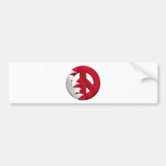 Bahrain Bumper Sticker