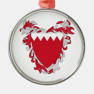 Bahrain Coat Of Arms Christmas Ornament
