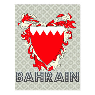 Bahrain Coat of Arms Postcard