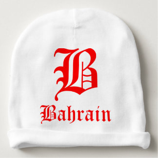 Bahrain Custom Baby Cotton Beanie Baby Beanie