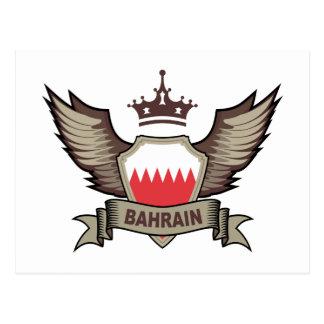 Bahrain Emblem Postcard