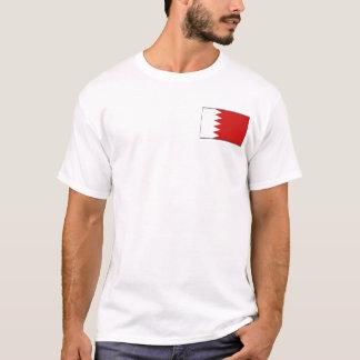 Bahrain Flag and Map T-Shirt