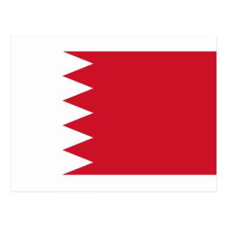 Bahrain Flag BH Postcard