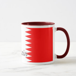 Bahrain Flag Coffee Mug