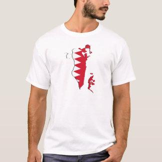 Bahrain Flag map BH T-Shirt