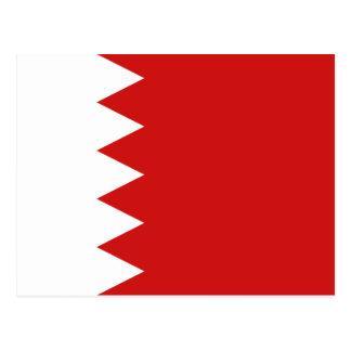Bahrain Flag Postcard