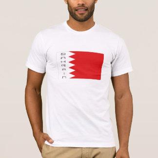 Bahrain flag souvenir t-shirt