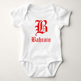 Bahrain Letter B Baby Baby Bodysuit
