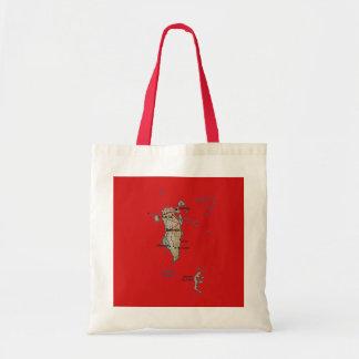 Bahrain Map Bag