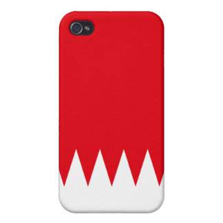 Bahrain National Nation Flag  Covers For iPhone 4