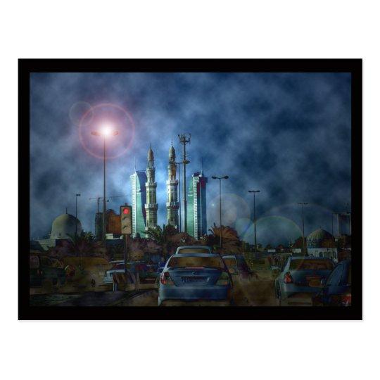 Bahrain Photography art Postcard