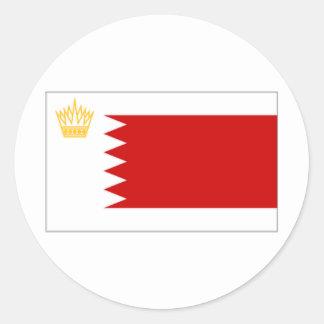 Bahrain Royal Standard Flag Classic Round Sticker