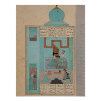 Bahram Visits a Princess in the Turquoise Poster