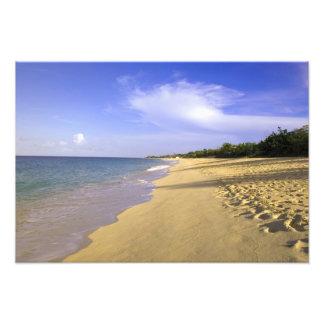 Baie Longue Long Bay beach, St. Martin, Photo Art