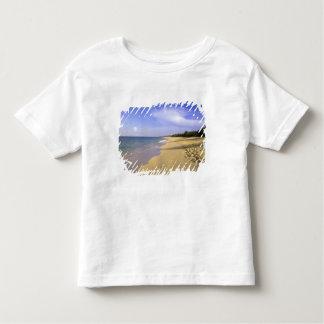 Baie Longue Long Bay beach, St. Martin, Tee Shirts