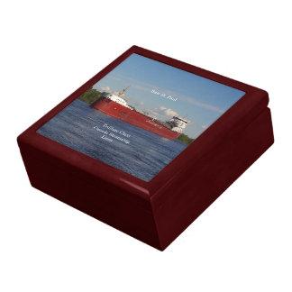 Baie St. Paul keepsake box