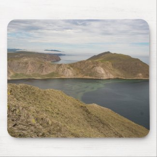 Baikal Lake Mouse Mat