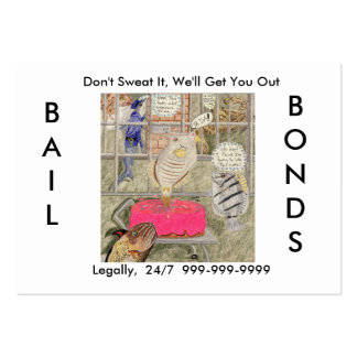 Bail Bonds Business Cards
