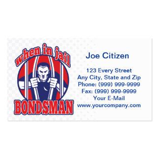 bail bonds busting prison business card pack of standard business cards