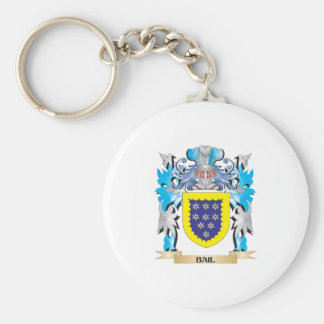 Bail Coat of Arms Key Chain
