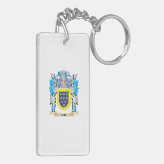 Bail Coat of Arms Rectangle Acrylic Keychains