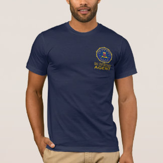 BAIL ENFORCEMNT AGENT  T SHIRT Navy blue