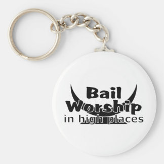 Bail Worship Greed Fest Key Chain