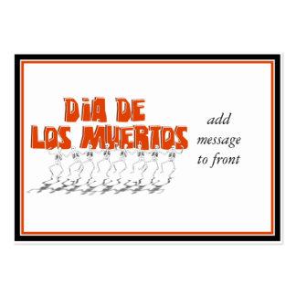 Bailando Para Dia De Los Muertos Large Business Cards (Pack Of 100)